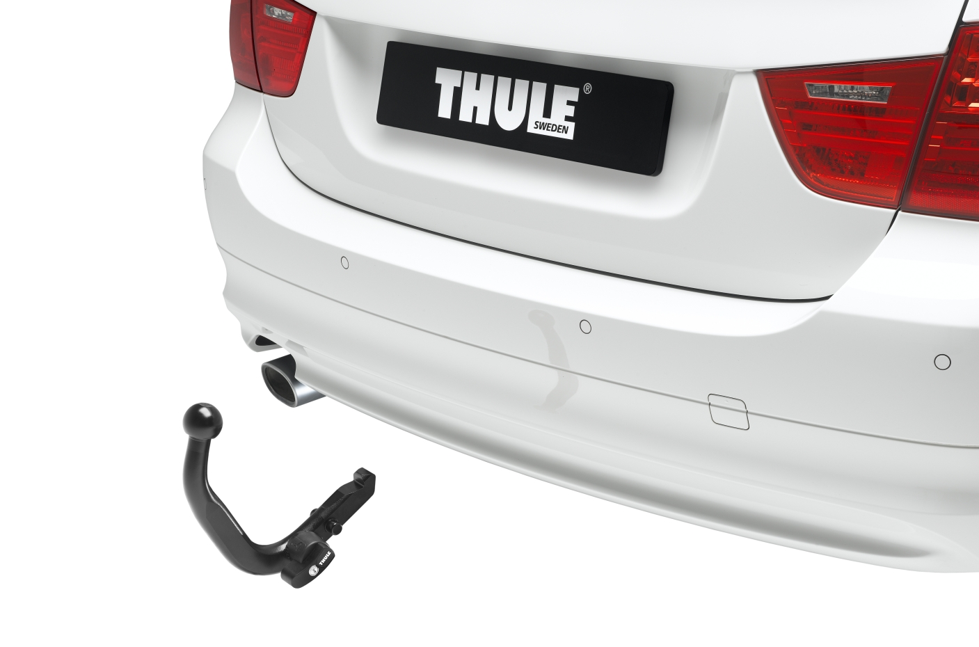 thule detachable towbar bma 13 pol e kit seat leon 1p1. Black Bedroom Furniture Sets. Home Design Ideas